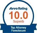 Avvo 10.0 Top Attorney Foreclosure