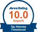 Avvo 10.0 Top Attorney Foreclosure