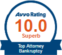 Avvo 10.0 Top Attorney Bankruptcy