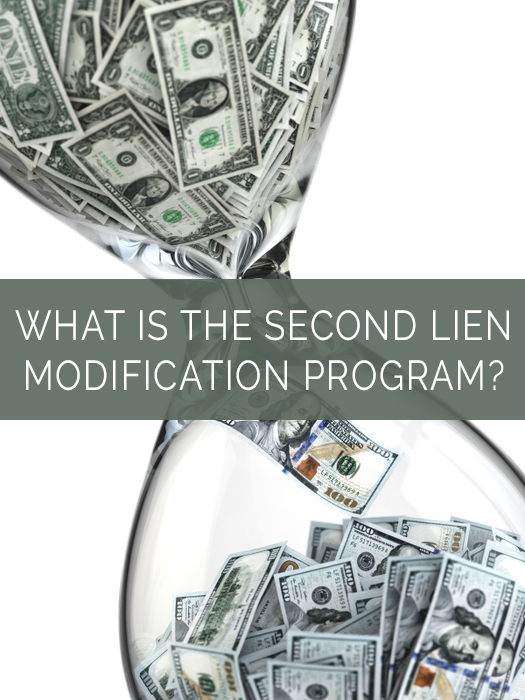 What is the second lien modification program Home affordable modification program