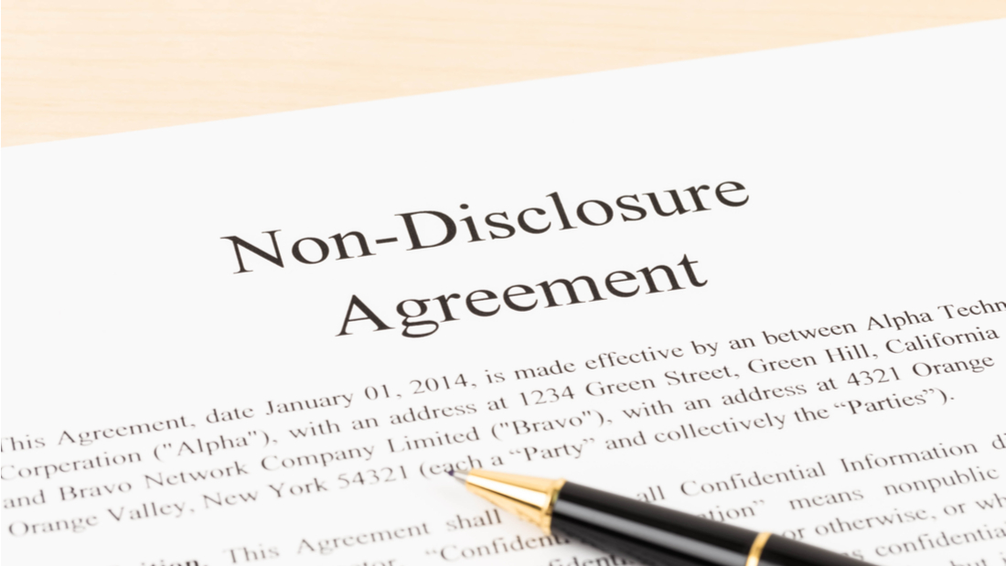 Of A NonDisclosure Agreement